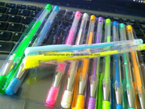 Metellic, Glitter, Neon, Pastel Gel Pen pictures & photos