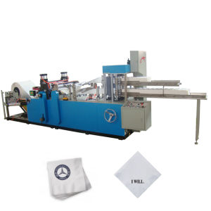 Automatic Printing and Folding Paper Napkin Machine pictures & photos
