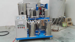 Nakin Tyk Phosphate Ester Fire - Resistant Oil Dehydration/ Oil Cleaning Plant/Transformer Oil Recycling pictures & photos