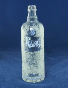 Abac Glass Vodka Bottle pictures & photos