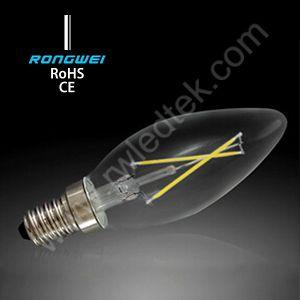 3W 4W 5W E27 Epistar LED, LED Candle Bulb Lamp