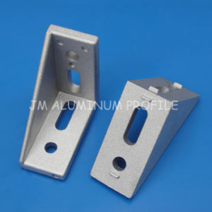 Dia-Cast Aluminum, 30X60 Slot 8 Corner Angle L Brackets Connector Fasten Connector Aluminum Profile Accessories pictures & photos