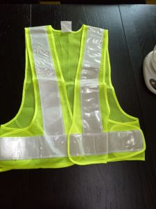 100% Polyester Safety Reflective Vest for Protection pictures & photos