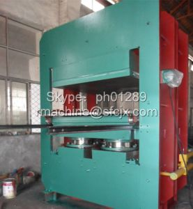 PLC Control Frame Plate Vulcanizing Press Machine with Ce and ISO9001 pictures & photos