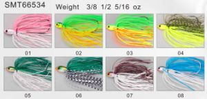 Bass Fishing PRO Top Grade Designed and Painted Spinner Bait 66535 Fishing Lure pictures & photos