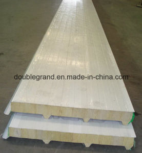 PU /EPS Sandwich Panel for Steel Structure Warehouse/Workshop Buildings pictures & photos