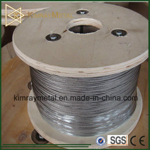 304 and 316 Stainless Steel Wire Rope pictures & photos