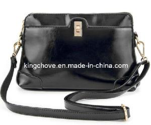 Black High Quality PU Latest Fashion Ladies Bag (KCH78-01) pictures & photos