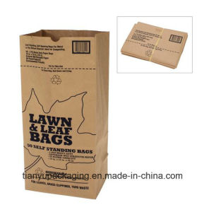 Kraft Paper Bag for Lawn and Leaf Trash pictures & photos