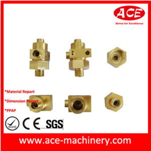 CNC Machining of Bright Chrome Plated Part pictures & photos