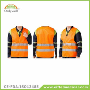 120g En ISO 20471: 2013 High Light Reflective Safety Vest pictures & photos