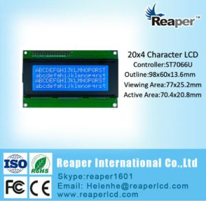 Stn Yellow Green 20X4 COB Character LCD Module pictures & photos