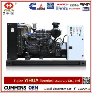 Shangchai Engine Power Open Electric Diesel Generator (72.5-900kVA/58-720kW) pictures & photos