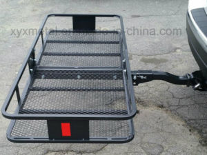 Folding Hitch Mount Cargo Basket Rack Luggage Hauler Carrier pictures & photos