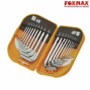 18PCS Short Arm Combo Hex Key Set HK-047 pictures & photos