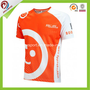 Breathable Polyester Sublimated Custom Running Shirts for Men pictures & photos