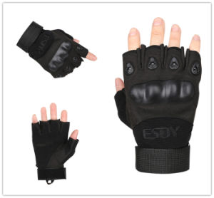 Multicolors Esdy Fingerless Tactical Shooting Protective Gloves pictures & photos