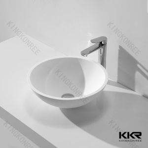 Small Size Modern Bathroom One Piece Washbasin pictures & photos
