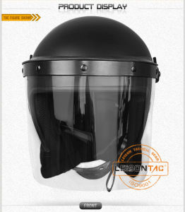 Riot Helmet (Matte) of PC/ABS Material ISO Standard pictures & photos