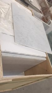 Italian Marble Prices White Carrara Marble Flooring Tiles pictures & photos