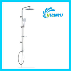 ABS Shower Set with Sliding Hand Shower Holder Hy1008 pictures & photos