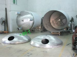 10t Insulation Stainless Steel Sterile Pure Water Treatment Storage Tank pictures & photos