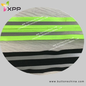 Zipper with Reflective Tape in Metres pictures & photos