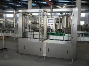 Glass Bottle Juice Filling Machine for Sale (RCGF18-18-6) pictures & photos