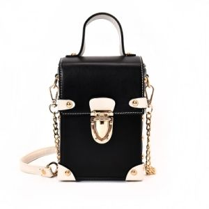 Mini Chain Strap with Top Handle Shoulder Bag Wzx1389 pictures & photos