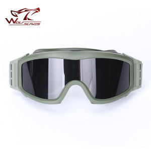 Hot Selling 3 Lens Ess Army Profile Nvg Glasses Military Tactical Goggles Protection Glasses for Wargame Motorcycle Wholesale pictures & photos