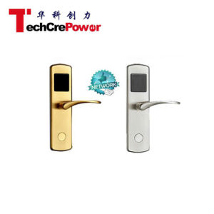 Advanced Network TCP/IP Brass Polish RFID Card Hotel Lock pictures & photos