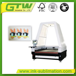 Laser Cutting Machine with High-Altitude Camera for Textile Printing pictures & photos