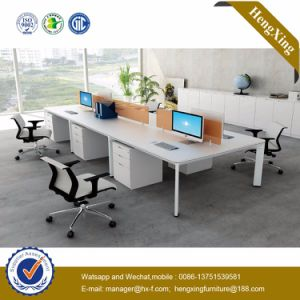 Foshan Office Furniture 6 Seats Workstation Office Partition Wall (HX-NJ5068) pictures & photos