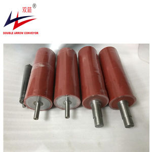 Diamond and Flat Rubber Coat Driving Pulley, PU Lagging Driving and Tail Pulley pictures & photos