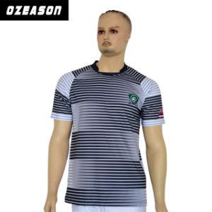 2017 New Design Customized Wholesale Soccer Uniform Jersey Kit pictures & photos