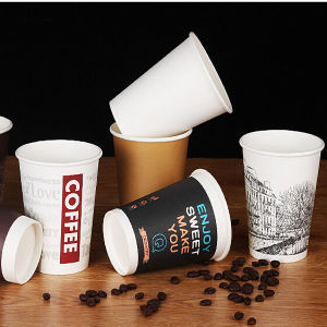 Single Wall Disposable Paper Hot Coffee Cup Hot Sale pictures & photos