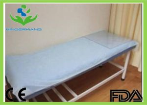 Disposable Non Woven /SMS/ Bed Cover pictures & photos