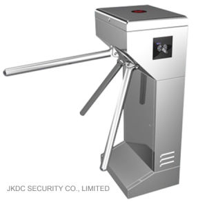 Stainless Steel Supermarket Access Control Automatic Barrier Gate Tripod Turnstile pictures & photos