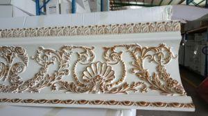 Top Rank Decorative Cornices PU Foam Cornices, PU Moulding (AA313) pictures & photos