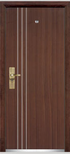 Steel Wood Armored Door / Steel Wooden Armored Door (YF-G9010) pictures & photos