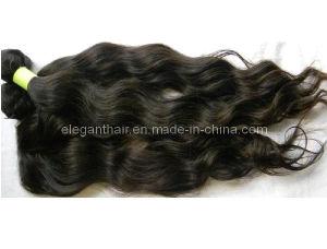 "Unprocessed Brazilian Virgin Natural Color 10""-*30"" Wavy Hair Extensions pictures & photos"