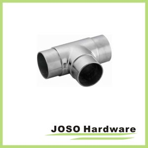 Stainless Handrail Pipe Connector Circular Fitting (HS204) pictures & photos