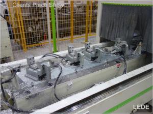 CNC Milling Machine for Aluminum, Copper, PVC and Industrial Profiles Lede CNC pictures & photos