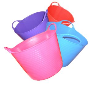 Plastic Bucket, Tubtrug Bucket, Flexible Bucket, PE Pail (9001-9004)