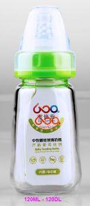 120ml Neutral Boroslicate Glass Baby Feeding Bottle pictures & photos