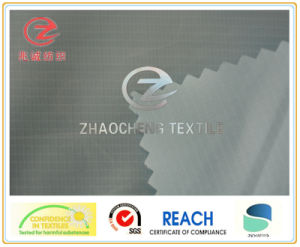 400t 0.2 Two-Line Ribstop Poly Taffeta, Garment Fabric (ZCGF034)