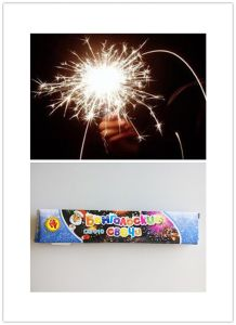 "7"" Bamboo Stick Gold Sparklers/Fireworks and Firecrackers pictures & photos"