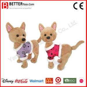 Stuffed Plush Animal Chihuahua Soft Dog Toy pictures & photos