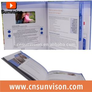 "2.8"" LCD Business Advertising Video Brochure Booklet pictures & photos"