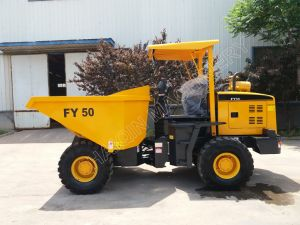 Haiqin Brand 5.0 Ton Wheel Hydraulic Dumper (FY50) for Sale pictures & photos